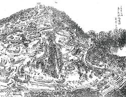 多気城跡想像図